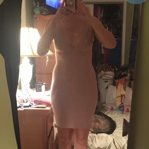 Misguided bodycon dress